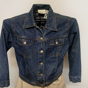 Like new Bill Blass jean jacket